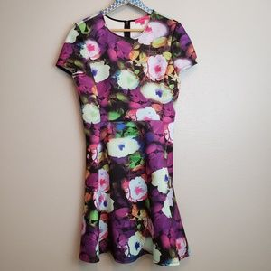 Betsey Johnson Floral Print Dress size 12